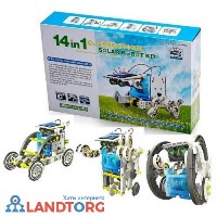 Робот-конструктор Solar Robot Kit 14 в 1 Educational